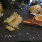 Fois gras et son délicieux confit d'oignon