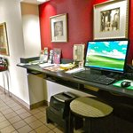 Get your emails checked in the Business Center at the Battgleground Inn Greensboro