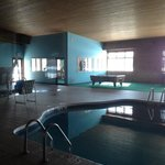 POOL AREA/POOL TABLE