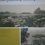 Se destaca na região, na foto antiga.