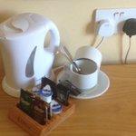Complimentary tea/coffee in room