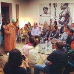 Hajj Ahmed Ezzarghani tells hikayat for Marrakech Biennale audiences!