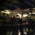Night time on the Riverwalk