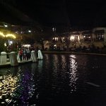 Strolling the Riverwalk at Night