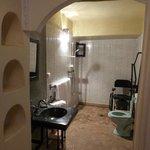 Salle de bain parfaitement accessible