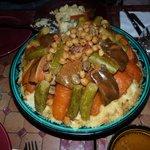 Le délicieux couscous de Khadija