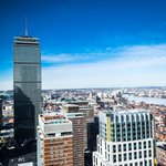 View of Prudential Tower