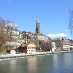 panoramic view of the old city of Bern