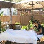 Outdoor Massage is very popular in San Diego