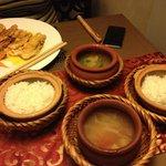 Side (rice, soup)