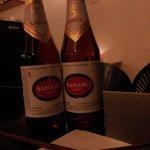 Saigon øl er gode på kj minh, men perfekte i Saigon:-)=