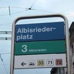 Albisriederplatz Station - Line 3