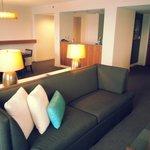 Corner suite on the 31st floor
