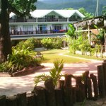 Augerine côté jardin, accès direct plage