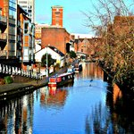 Canal basin area - a great place to chill out in