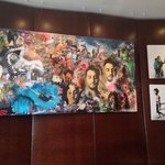 Local Artist Paintings in the Lobby