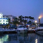 At night - Estepona Marina