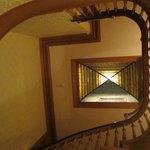 L'escalier en tourniquet