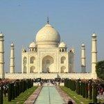 Agra's world famous Taj Mahal