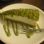 Cheesecake con pistacchi