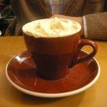 Cioccolata bianca con zabaione