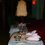 Romantic tables for two in Otaheite