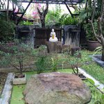 Budda shrine on premises
