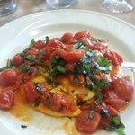 Delicious ravioli