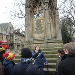 Our guide Maria of Footprints Tours in Oxford
