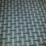 straw on floor which means carpets weren't vaccuumed