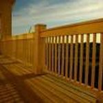 Beautiful Decks of the Rukmapura Park Hotel