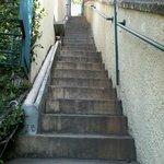 Escadaria acima...
