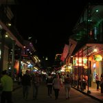 View of Bourbon O from Bourbon St