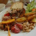 Lunch at Dario Cecchini's Butcher Shop.. YUM!
