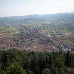 Gubbio dal Monte Ingino