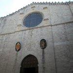 facciata del Duomo a Gubbio