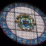 lo splendido rosone del Duomo di Gubbio