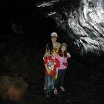 Lava tube at Aloha Crater Lodge