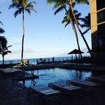 Beautiful pool with ocean view