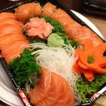 Take out Version of the Salmon Lover Plate!
