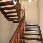 Stairs to upstairs bedrooms in 3 bedroom villa
