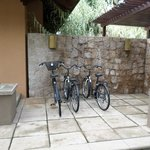 Bicycles in family villa