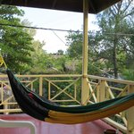 Hammock on our wraparound porch