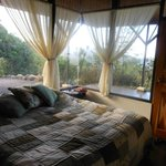 Bedroom in Large cabin