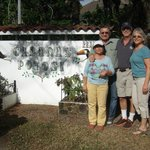 with Dennis and Mireya