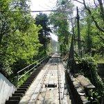 Funicular dá acesso ao Cerro