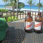 Cold ones by the beach