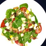 House spinach Salad