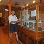 Mr. Halfdome checks out historic display.