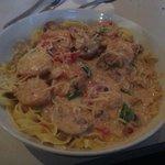 Seafood Gorgonzola